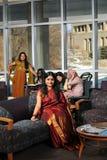 Ethnic Group of Female Students Royalty Free Stock Image