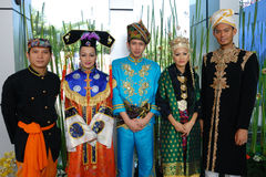 Ethnic group in Malaysia. Royalty Free Stock Images
