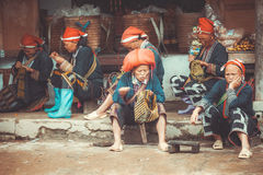 Ethnic groups of North Vietnam Red Dao Stock Image
