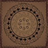 Ethnic hand drawn ornament Stock Images
