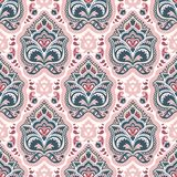 Ethnic hand drawn seamless pattern. EPS 10 vector illustration Royalty Free Stock Photos