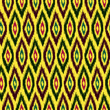 Ethnic hand drawn seamless pattern Royalty Free Stock Image