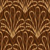 Ethnic hand drawn seamless pattern Royalty Free Stock Photos