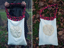 Ethnic handmade bag Stock Image