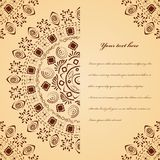 Ethnic handmade ornament Stock Photo