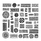 Ethnic handmade ornament for your design Royalty Free Stock Images