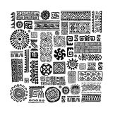 Ethnic handmade ornament for your design Stock Image
