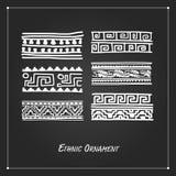Ethnic handmade ornament for your design Stock Photo