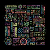 Ethnic handmade ornament for your design Royalty Free Stock Photography
