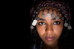 Ethnic headdress Stock Images