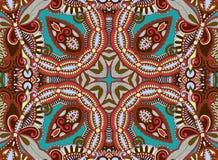 Ethnic horizontal  authentic decorative paisley Stock Photo