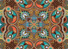 Ethnic horizontal authentic decorative paisley Royalty Free Stock Images