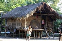 Ethnic house Royalty Free Stock Photo