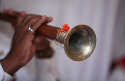 Ethnic Indian Wind Instrument Stock Images