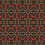 Ethnic Intricate Seamless Pattern Stock Photos