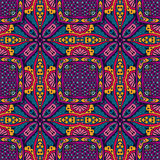 Ethnic intricate seamless tribal  pattern Stock Photos