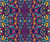 Ethnic intricate seamless tribal  pattern Royalty Free Stock Photography