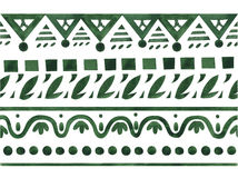 Ethnic jacquard ornament Royalty Free Stock Image