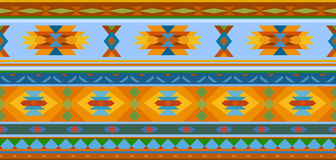 Ethnic jacquard ornament Stock Images