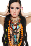 Ethnic jewels Stock Image