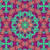 Ethnic kaleidoscopic patterns Stock Photos