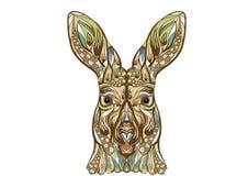 Ethnic kangaroo Stock Photo