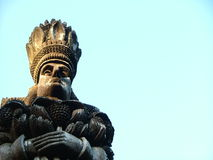 Ethnic king Royalty Free Stock Photos