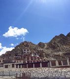 Ethnic Leh Houses Royalty Free Stock Photo