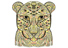 Ethnic leopard Royalty Free Stock Photography
