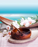 Ethnic luxurious spa treatment Stock Images