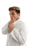 Ethnic man pointing finger at you Stock Photography