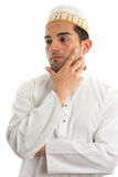 Ethnic Man Thinking Stock Images