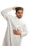 Ethnic Man wearing traditional clothes Royalty Free Stock Images