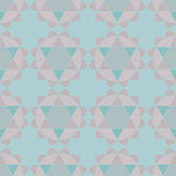 Ethnic mandalas geometric seamless pattern Stock Image