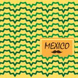 Ethnic mexican background Royalty Free Stock Images