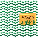 Ethnic mexican background Stock Image