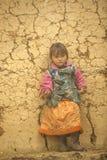 Ethnic minorities children. Ethnic minority children at Dong Van, Ha Giang province, Vietnam. Ha Giang is one of the six poorest provinces of Vietnam. Ha Giang Royalty Free Stock Photos