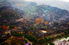 Ethnic minorities MIAO village Royalty Free Stock Photos