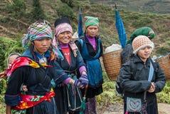 The ethnic minorities of Vietnam Royalty Free Stock Image