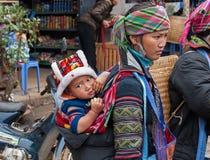 The ethnic minorities of Vietnam Royalty Free Stock Images