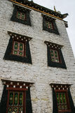 Ethnic minority architecture in danba,sichuan,china Royalty Free Stock Photos