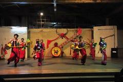 Ethnic minority dancing Stock Photo