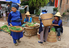 Ethnic minority people Royalty Free Stock Photo