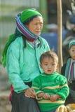 Ethnic minority people Stock Image