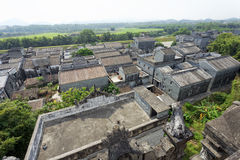 Ethnic minority village in Guangxi province,China Stock Photos