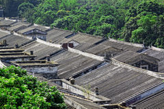 Ethnic minority village in Guangxi province,China Royalty Free Stock Image
