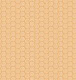 Ethnic monochrome pattern with circles. Decorative native background Stock Image