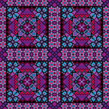 Ethnic mosaic ornamental background vector Stock Images