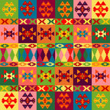 Ethnic motifs background Stock Photography
