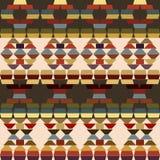Ethnic motifs background made of stripes Stock Image